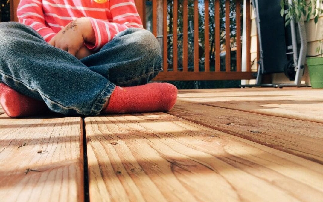 make your deck safer for children and pets